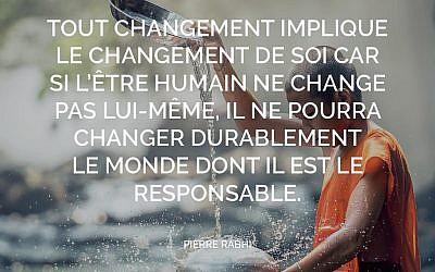 Accepter de changer